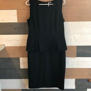 Peplum Elle Little Black Dress